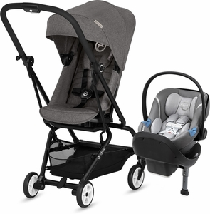 Cybex Eezy S Twist + Aton M Travel System - Manhattan Grey