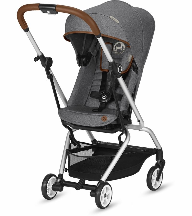 Cybex Eezy S Twist Stroller Denim Manhattan Grey