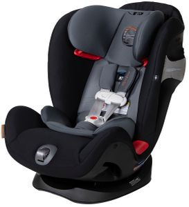Cybex Eternis S All-in-One Convertible Car Seat  - Pepper Black