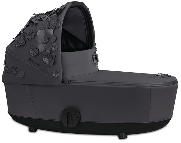 Cybex Mios Lux Carry Cot - Simply Flowers - Dream Grey