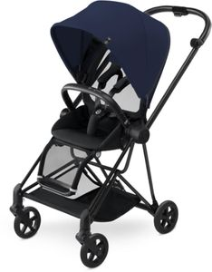 Cybex 2017 / 2018 Mios Stroller - Black/Midnight Blue