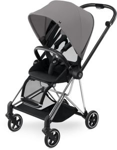 Cybex 2017 / 2018 Mios Stroller - Chrome/Manhattan Grey