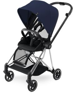 Cybex 2017 / 2018 Mios Stroller - Chrome/Midnight Blue