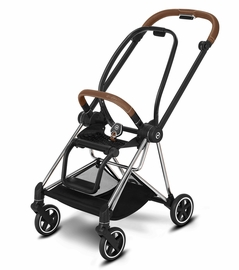Cybex Mios 2 Stroller Frame - Chrome/Brown