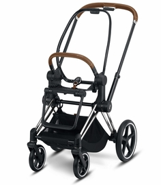 Cybex Priam 3 Frame - Chrome/Brown