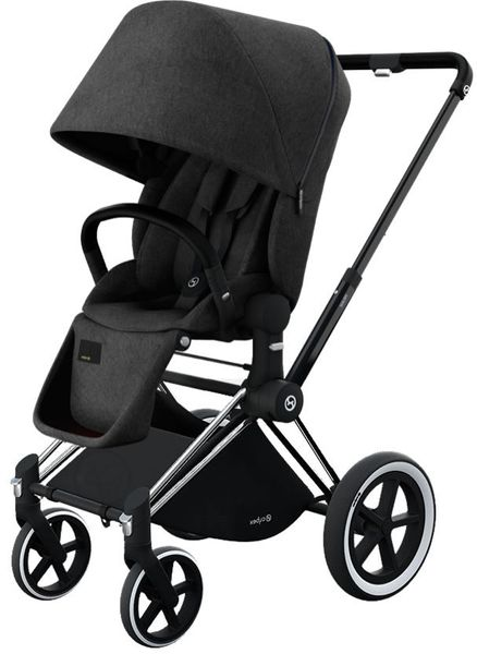 Cybex 2017/2018 Priam Lux All-Terrain Stroller - Black Beauty