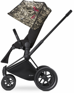 Cybex 2017/2018 Priam Lux All-Terrain Stroller - Butterfly/Black