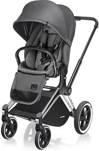 Cybex 2017/2018 Priam Lux All-Terrain Stroller - Chrome / Manhattan Grey