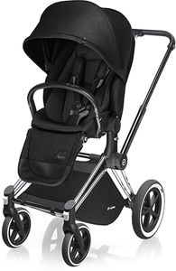 Cybex Priam Lux All-Terrain Stroller - Chrome / Stardust Black