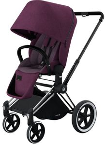 Cybex 2017/2018 Priam Lux All-Terrain Stroller - Grape Juice