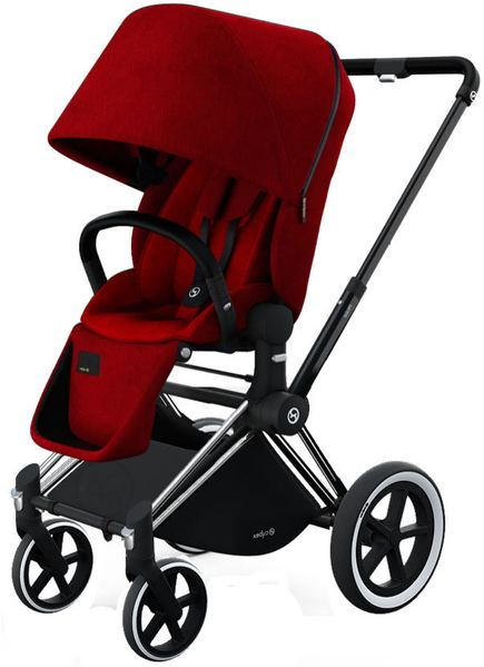 Cybex 2017/2018 Priam Lux All-Terrain Stroller - Hot & Spicy