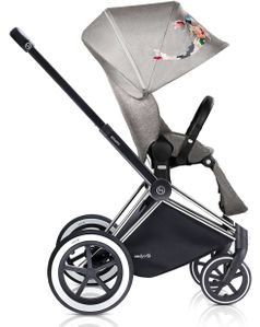 Cybex 2017/2018 Priam Lux All-Terrain Stroller - Koi/Chrome