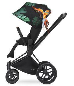 Cybex 2017 / 2018 Priam Lux Trekking Stroller - Birds of Paradise/Black