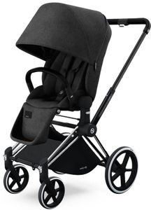 Cybex 2017 / 2018 Priam Lux Trekking Stroller - Black Beauty