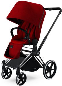Cybex 2017 / 2018 Priam Lux Trekking Stroller - Hot & Spicy
