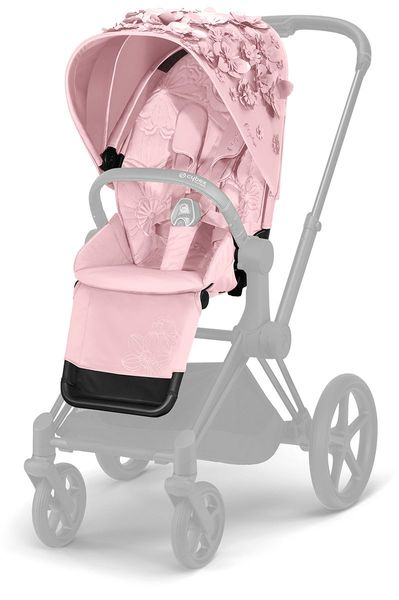 Cybex Priam Seat Pack - Simply Flowers - Pale Blush