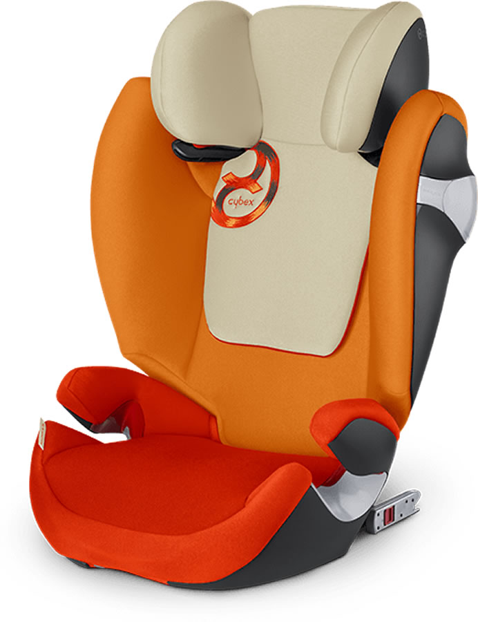 Avocent Solution M-Fix Booster Car Seat - Autumn Gold