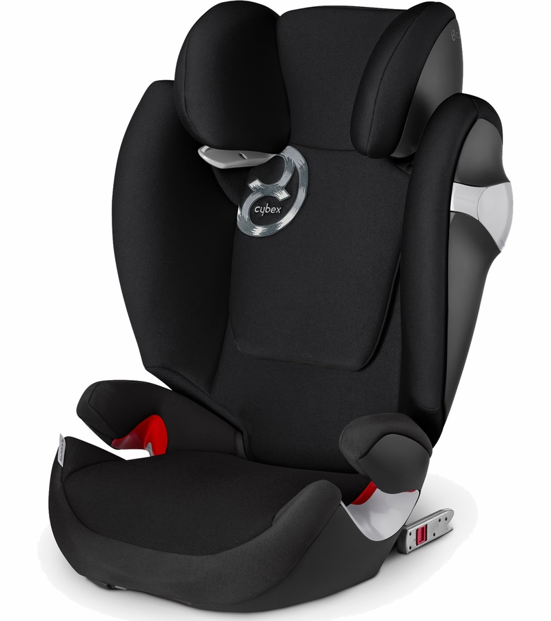 cybex solution m fix booster car seat black beauty. Black Bedroom Furniture Sets. Home Design Ideas