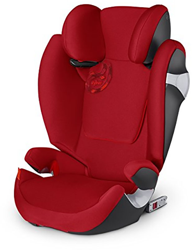 cybex solution m fix booster car seat hot spicy. Black Bedroom Furniture Sets. Home Design Ideas