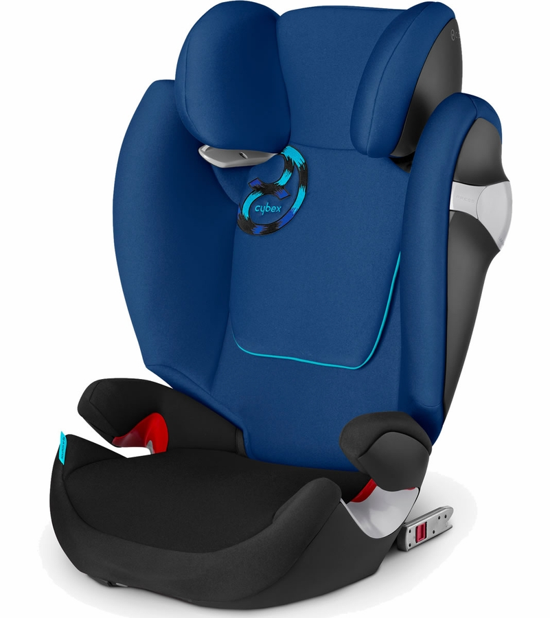 cybex solution m fix booster car seat true blue. Black Bedroom Furniture Sets. Home Design Ideas