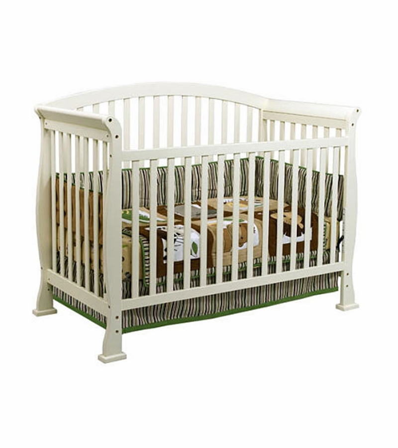 DaVinci Thompson 4-in-1 Convertible Crib With Toddler Rail