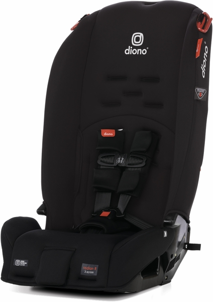 Diono Radian 3R All-in-One Convertible Car Seat 2020 Black Jet