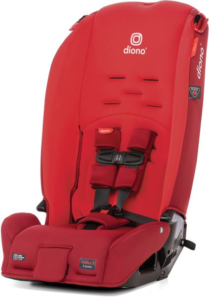 Diono Radian 3R All-in-One Convertible Car Seat 2020 Red Cherry