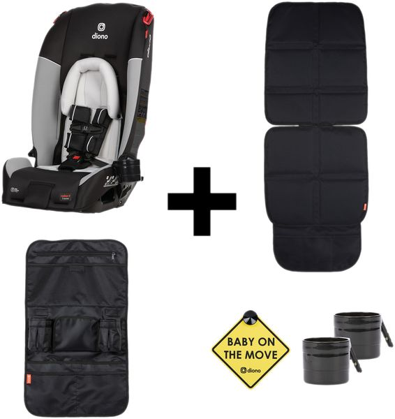 Diono Radian 3RX All-in-One Convertible Car Seat Bonus Pack 2020 Grey Limited Edition