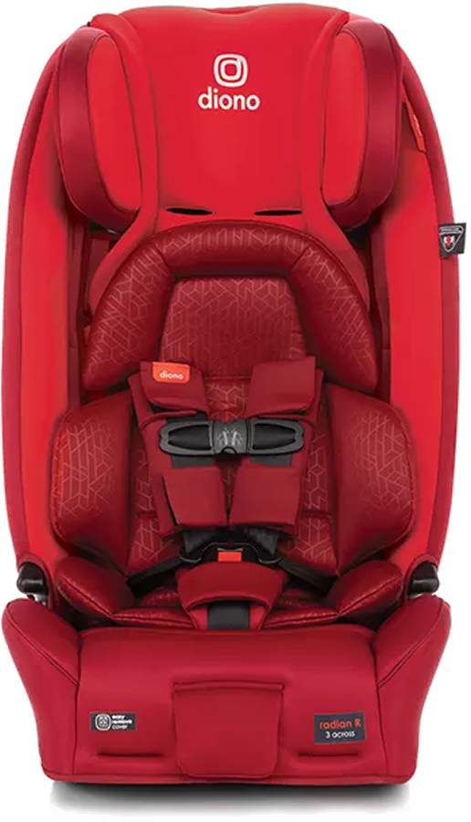 Red Cherry Diono Radian 3RXT Latch All-in-One Convertible Car Seat