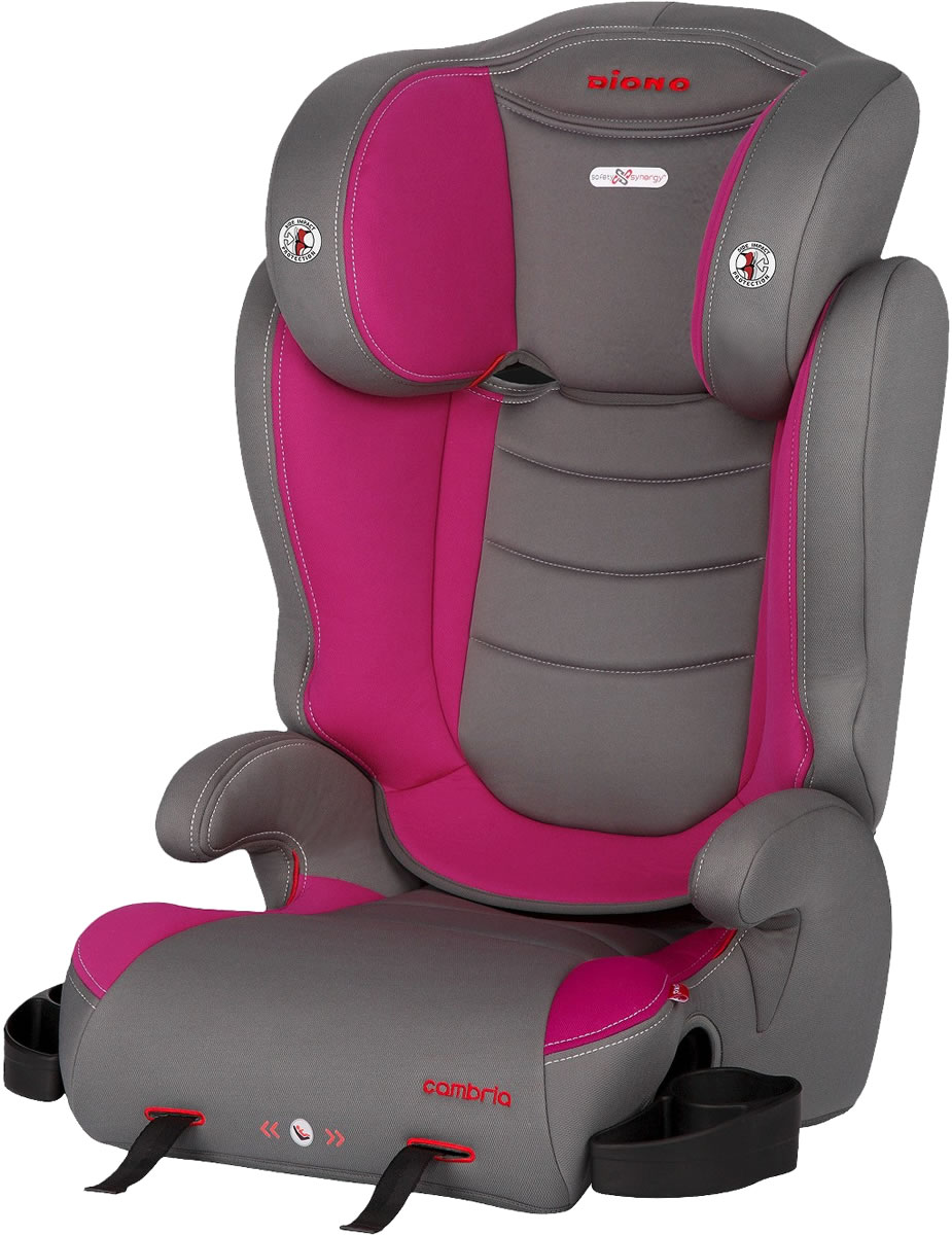 edea8b5a4 Diono Cambria High Back Booster Car Seat - Raspberry