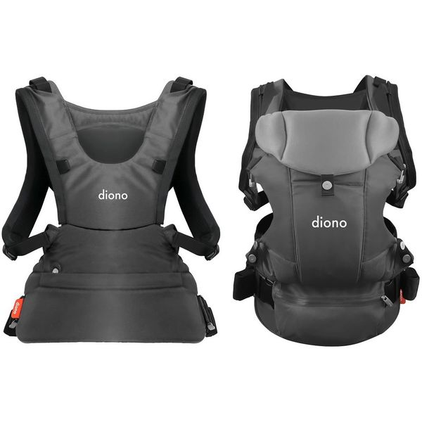 Diono Carus Essentials 3-in-1 Baby Carrier - Light Grey