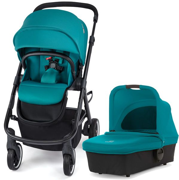 Diono Excurze Stroller & Carrycot - Blue Turquoise