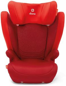 Diono Monterey 4DXT High Back Belt Positioning Booster Car Seat - Red