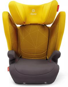 Diono Monterey 4DXT High Back Belt Positioning Booster Car Seat - Yellow Sulphur