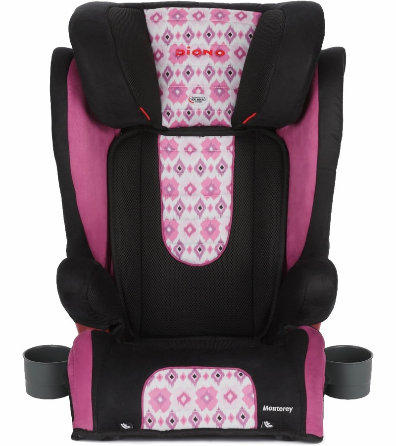 Diono Monterey Booster Car Seat Bloom