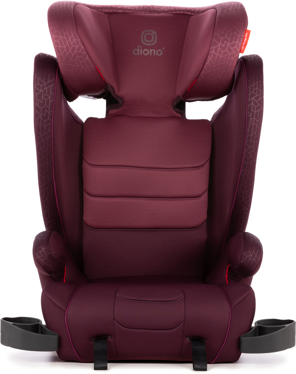 Cool Diono Monterey Xt High Back Booster Car Seat Plum Ncnpc Chair Design For Home Ncnpcorg