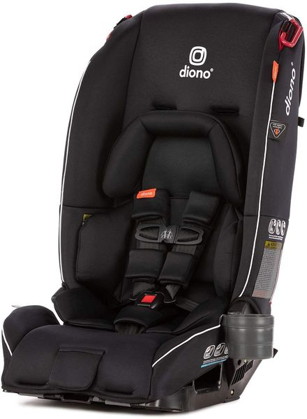 Diono Radian 3RX All-in-One Convertible Car Seat 2019 Black