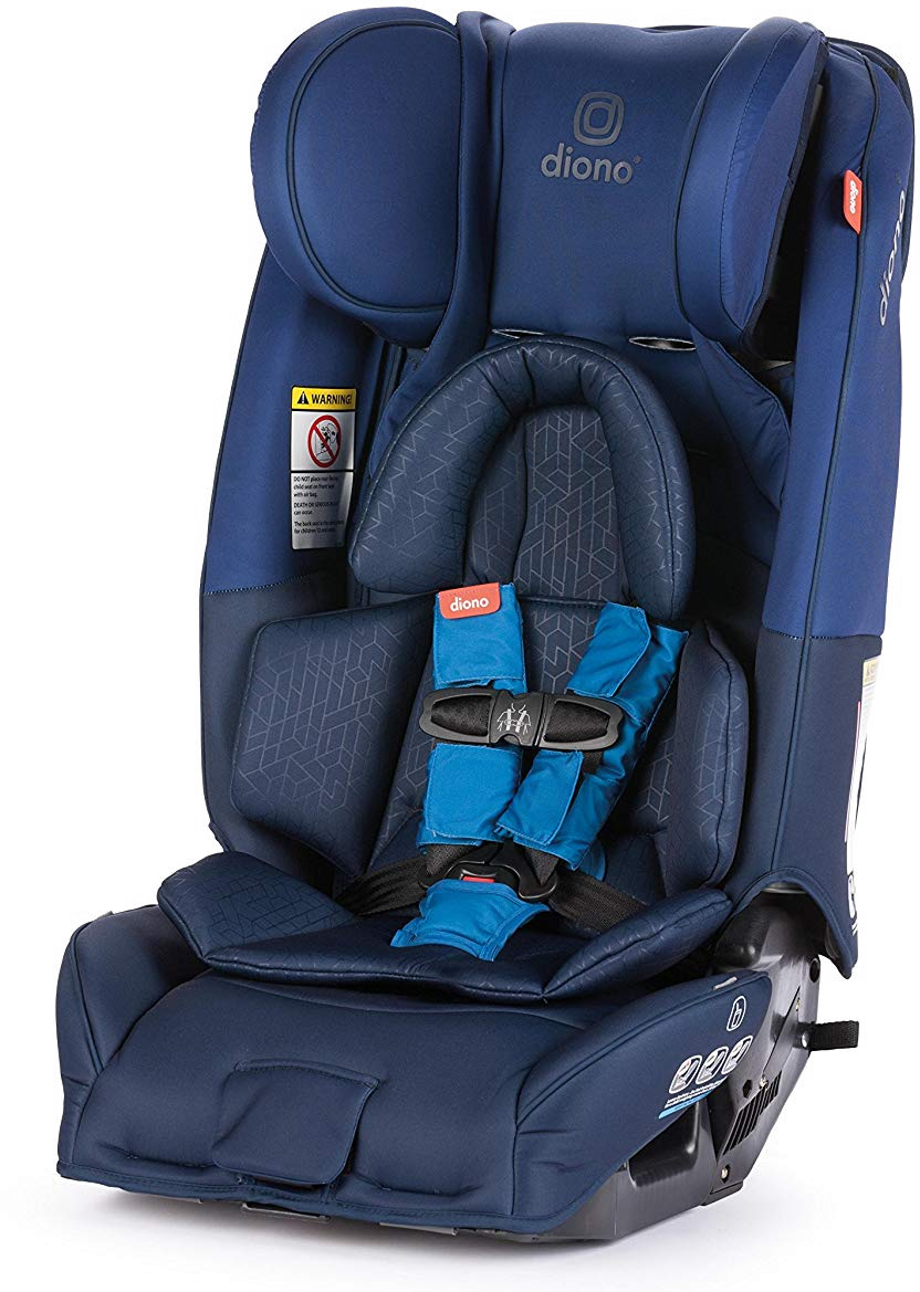 diono radian 3 rxt all in one convertible car seat blue. Black Bedroom Furniture Sets. Home Design Ideas