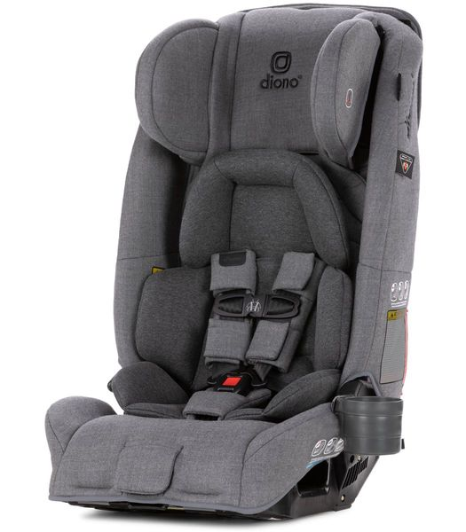Diono Radian 3RXT All-in-One Convertible Car Seat 2019 Grey Dark Wool