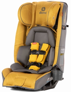 Diono Radian 3RXT All-in-One Convertible Car Seat 2019 Yellow Sulphur