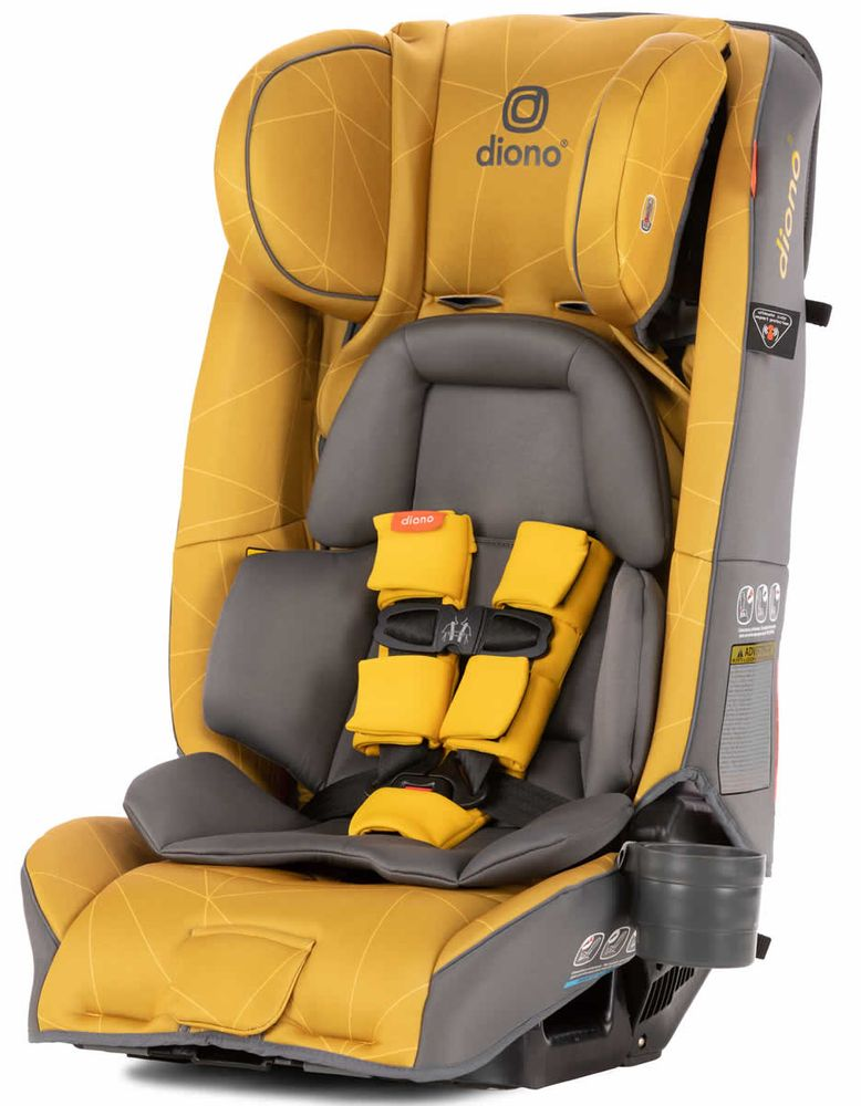 Diono Radian 3rxt All In One, Yellow Car Seat And Stroller