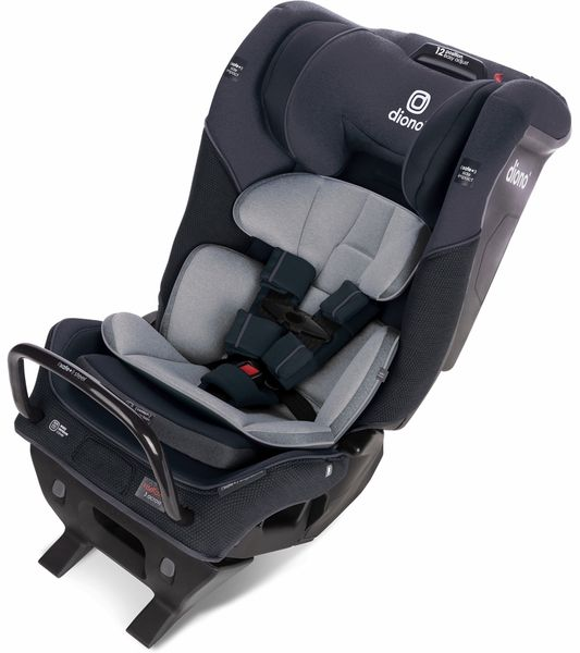 Diono Radian 3QX Ultimate 3 Across All-in-One Convertible Car Seat - Black Jet