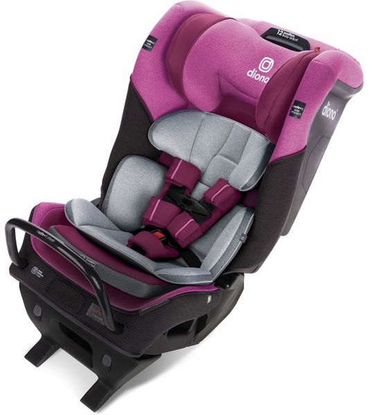 Diono Radian 3QX Ultimate 3 Across All-in-One Convertible Car Seat - Purple Plum