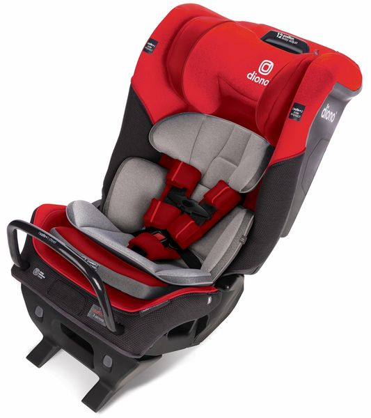 Diono Radian 3QX Ultimate 3 Across All-in-One Convertible Car Seat - Red Cherry