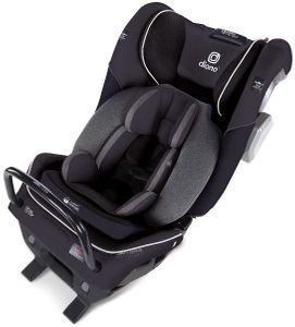 Diono Radian 3QXT Ultimate 3 Across All-in-One Convertible Car Seat - Black Jet