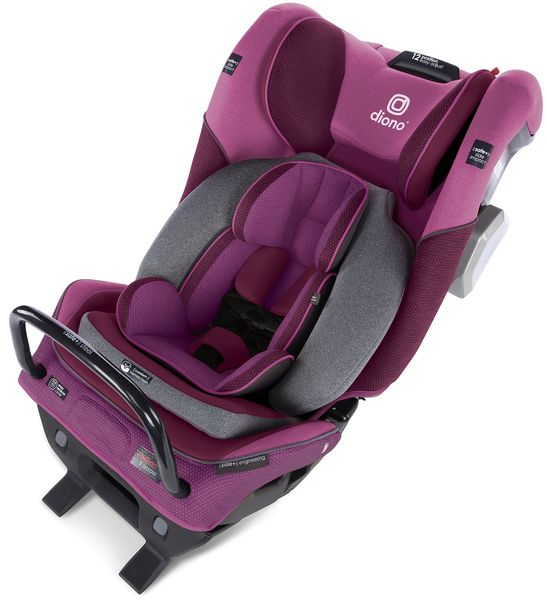 Diono Radian 3QXT Ultimate 3 Across All-in-One Convertible Car Seat - Purple Plum