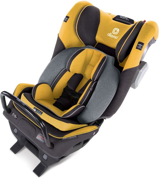 Diono Radian 3QXT Ultimate 3 Across All-in-One Convertible Car Seat - Yellow Mineral