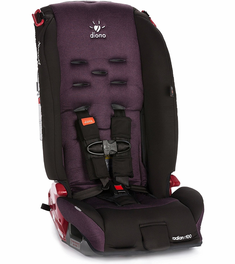 diono radian r100 all in one convertible car seat plum. Black Bedroom Furniture Sets. Home Design Ideas