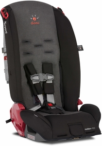 Diono Radian R100 Convertible + Booster Car Seat - Black Mist