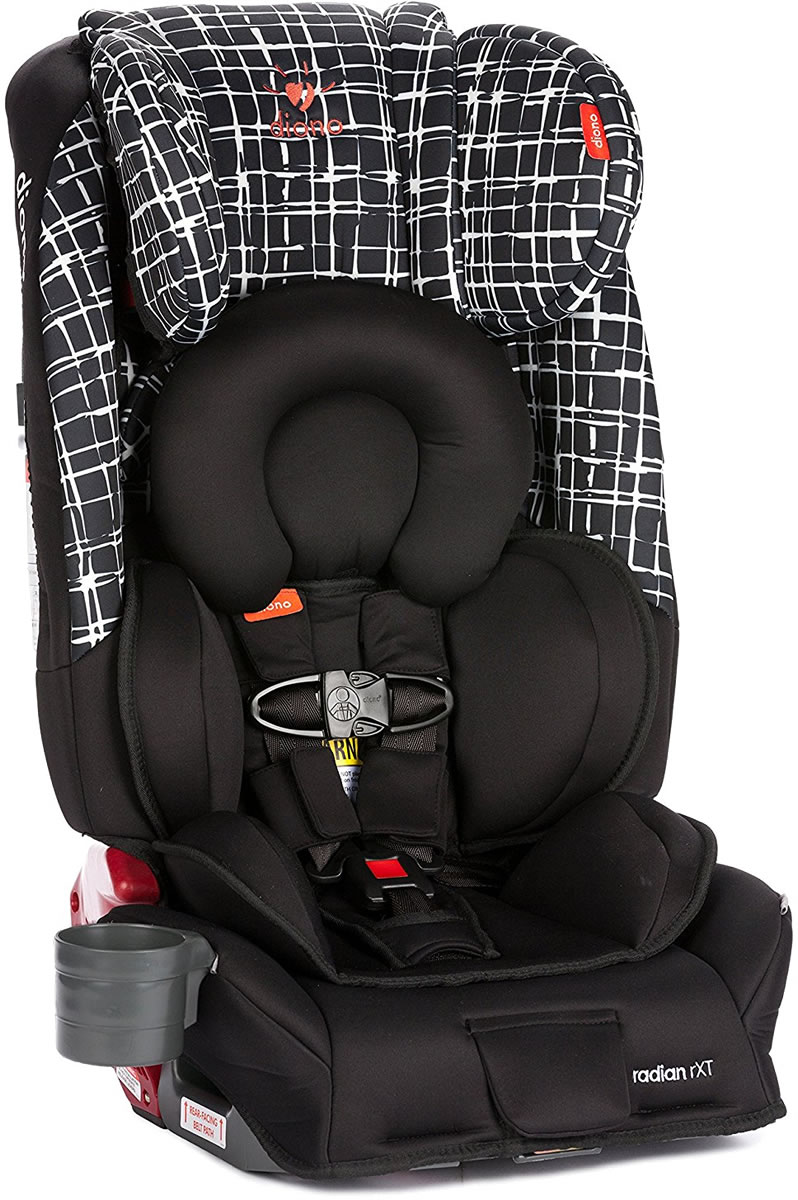 Diono Radian RXT All In One Car Seat Black Plaid